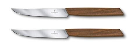 Swiss Modern Köttknivar 2st 12cm Presentask