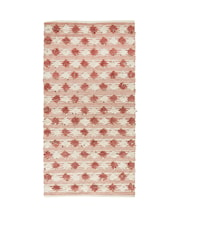 Carpet 170x90 cm Dusty rose/Off white
