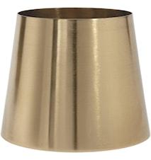 Mia Metall Lampskärm Guld 20cm