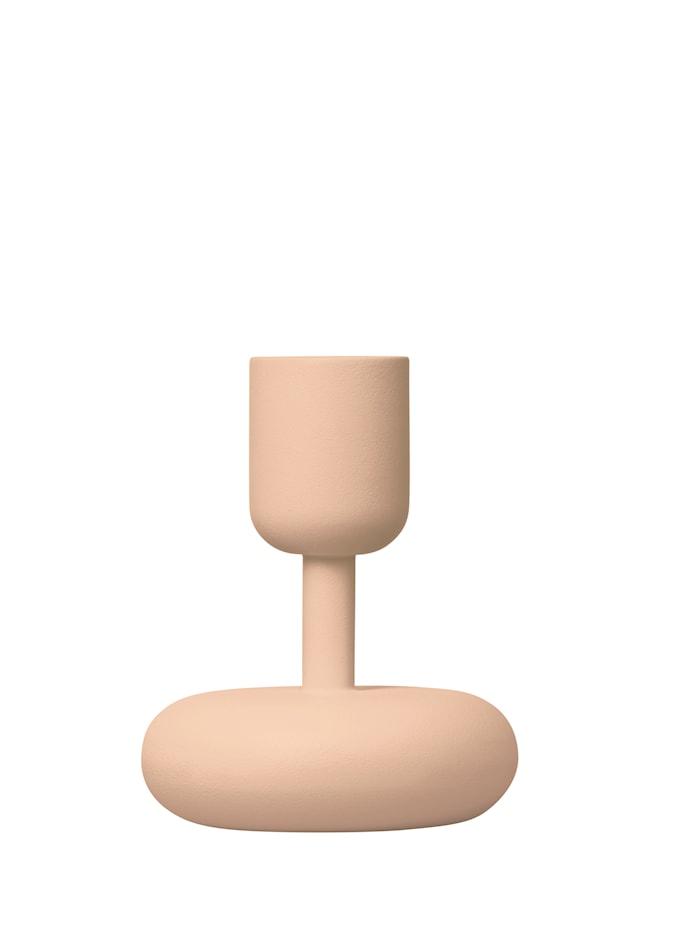 Nappula Kynttilänjalka Puuteri 10,7 cm