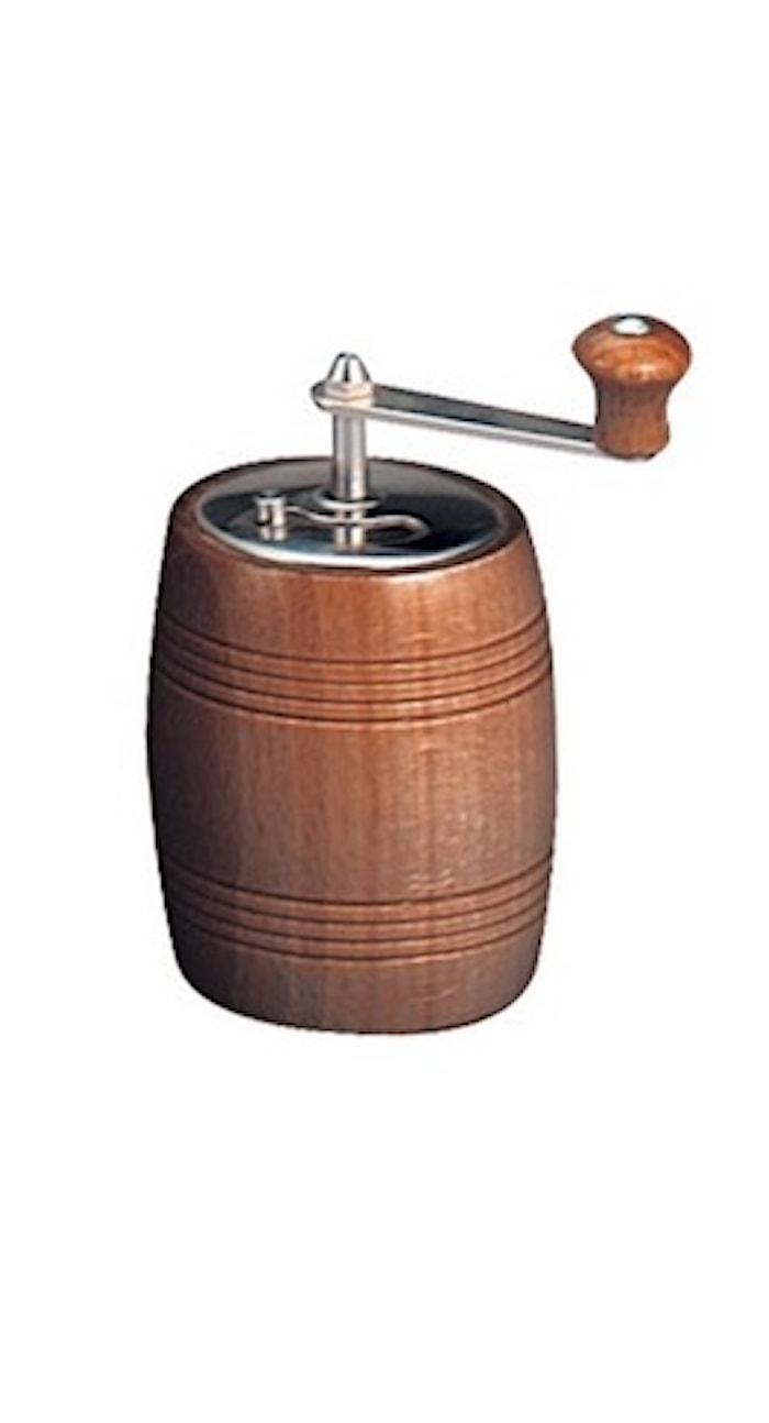 Peppermill Barrel 10 cm Valnut