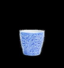 Spets Espressokopp Ljusblå 10 cl