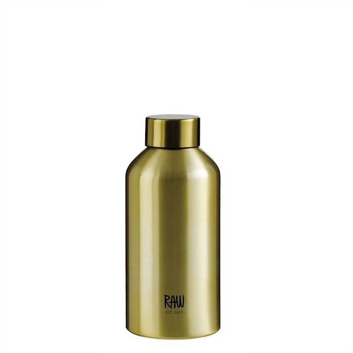 Raw To Go Flaska Aluminium Gold 0,5 L
