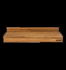 Bamboo Natural Rectangular Low