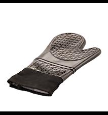 Topflappen Silikon 37 cm Schwarz