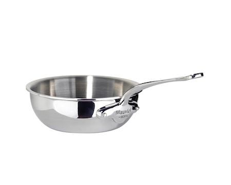 Cook Style Sautépanne Rund 0,8L blank stål