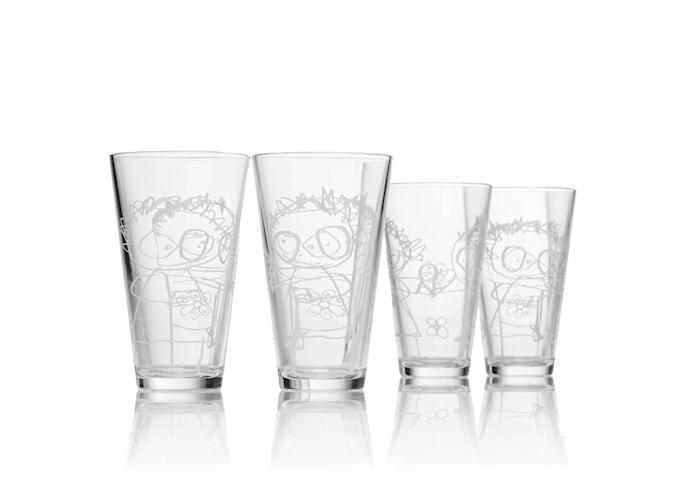 Vattenglas 36 cl 4 st