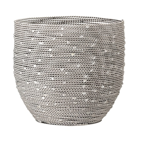 Cardi Värmeljushållare Metall Swirl
