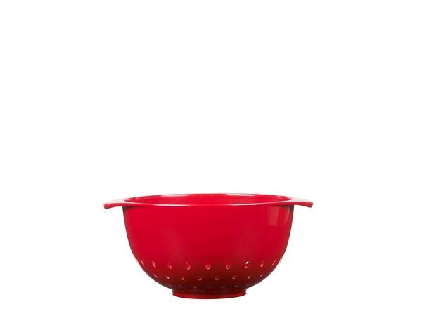 Durkslag Margrethe 15 liter Röd