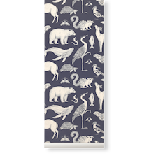 Katie Scott Tapet Animals Dark Blue