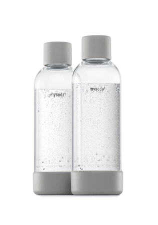 1 L Flaske 2-pakning Grå