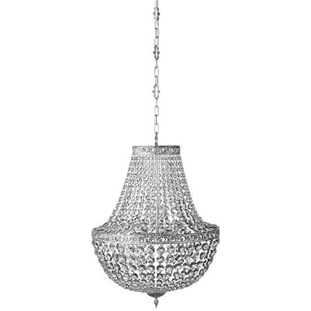 Divine Kristallkrona Grå/Silver Ø55cm
