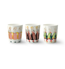 Elsa mug 3 pcs 28 cl The Girls