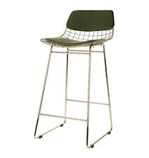 Stolsdyna Wire Comfort Kit Sammet Grön