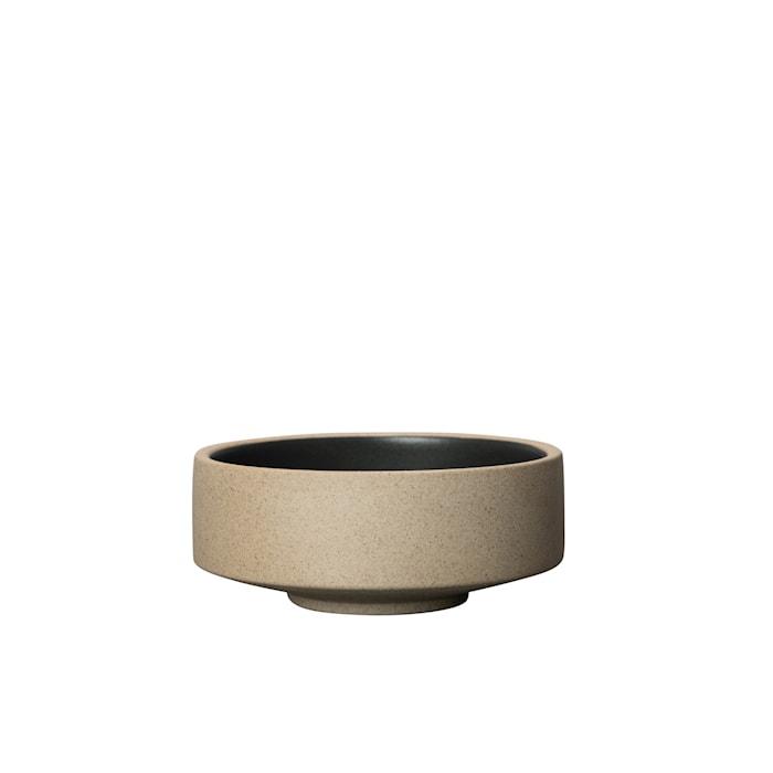 Fumiko Tapasskål Beige/Sort 12,5 cm