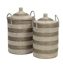 Seagrass Pyykkikori 2 kpl
