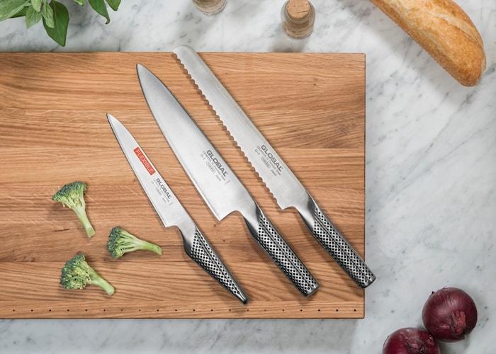Knivset 'Startset' med 3 knivar