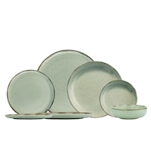Dinner Set (24 Stk) Green