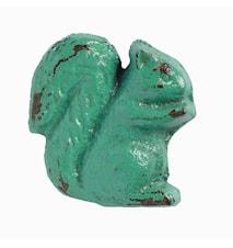 Griff Eichhörnchen 5x5 cm - Helles Türkis