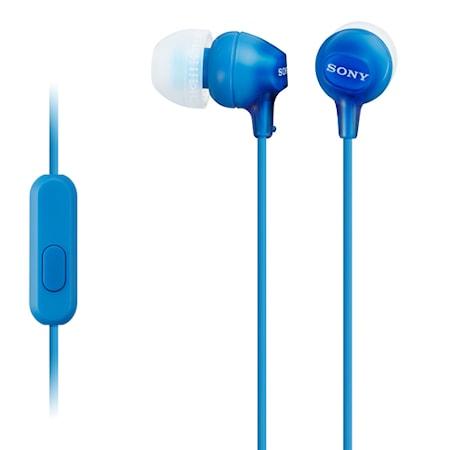 Övriga Headset in-ear MDR-EX15AP BlÃ¥