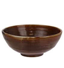 Kyoto Salad Bowl Brown 18x18x7cm