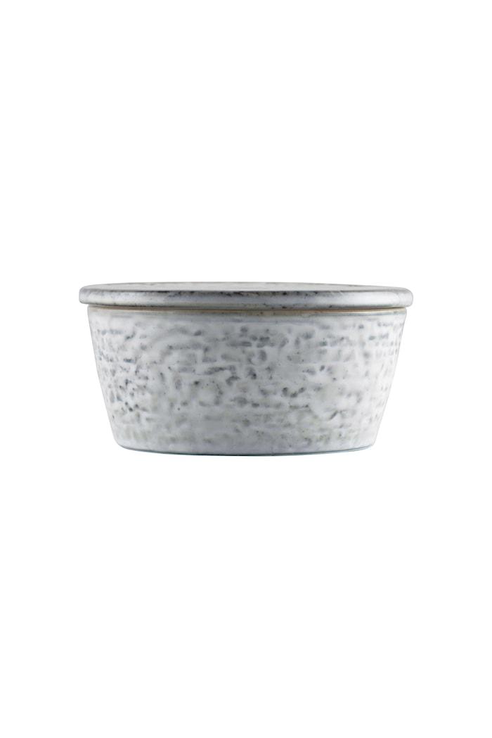 Förvaringsburk Rustic Ø 11x5,5 cm - Grå/Blå