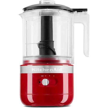 Sladdlös Mini Matberedare 5KFCB519EER Röd 1,19 L
