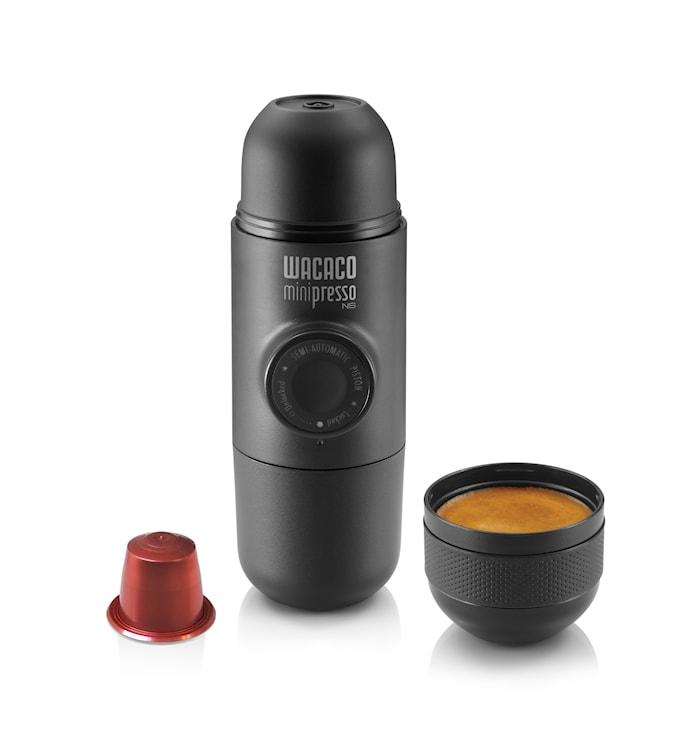 Minipresso til Nespresso-kapsler