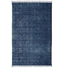 Kidal indigo bomullsteppe – 170x230 cm