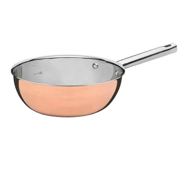 Sauteuse 1,5 liter Koppar