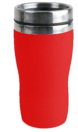 Bilkrus i plast liten Rød