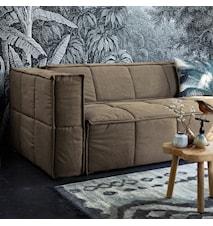 Kudde Tryckt Mönster Palmblad 45x45 cm
