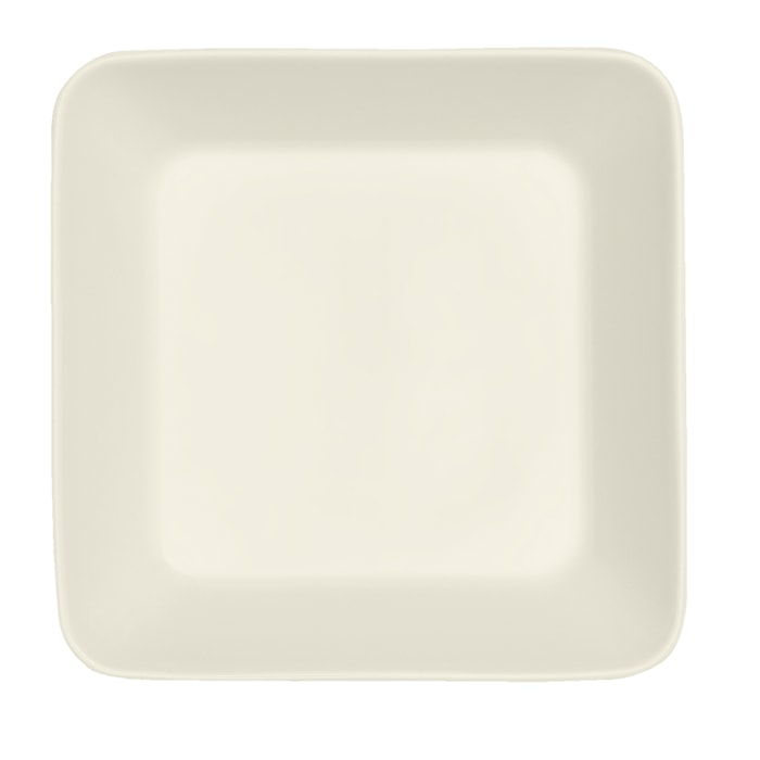 Teema Firkantet tallerken 16x16 cm hvid