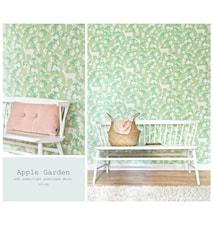 Apple garden tapet – Grå