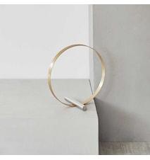 Dekoration cirkel - messing