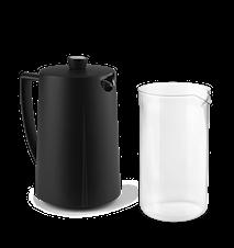 Kaffestempelglas 1,0 l klart