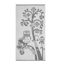 Taika Bath Towel Grey 70x140 cm