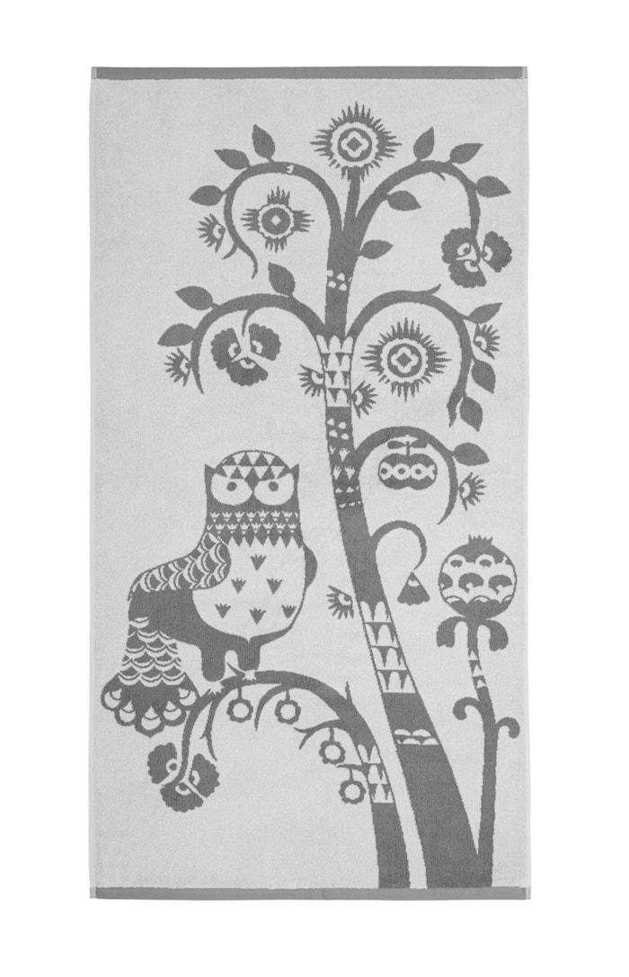 Taika Badehåndkle Grå 70x140 cm