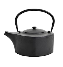 Tea Pot Cast Iron 9x15 cm Black