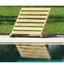 Sandy backrest stol