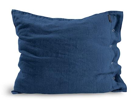 Lovely linen örngott Denim blue