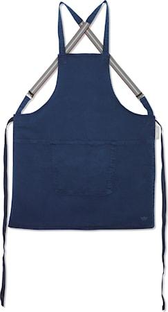 Suspender Förkläde Mörkblå