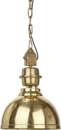 Manchester Taglampe Guld 52cm