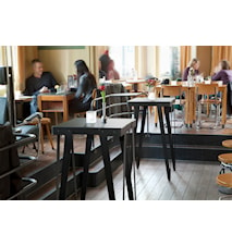 Lloyd high table barbord – 60x60, mörkgrå
