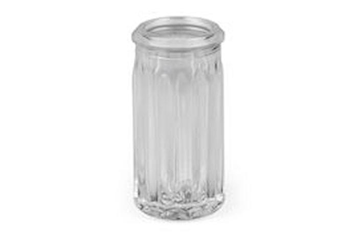 Glassbeholder til tannpirkere