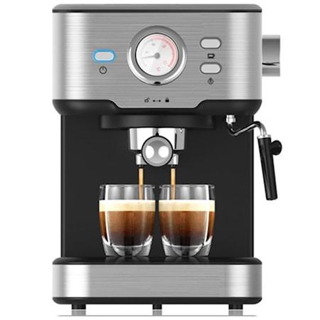 Espressomaskine med mælkeskummer