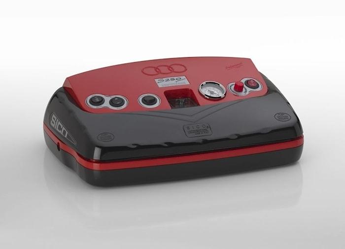 Vakuumpakker S250 Premium Red/Black