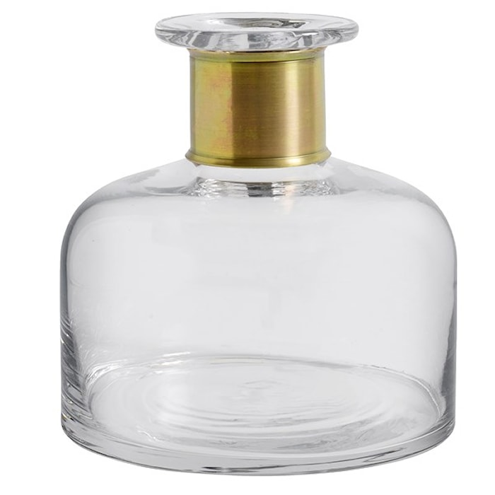 RING deco bottle, clear, M