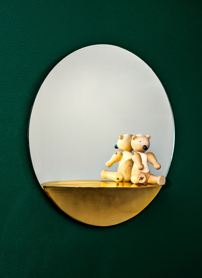 Spegel Circle Gold