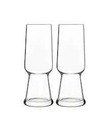 Birrateque Ölglas Pilsner 2 Pack 54cl Klar
